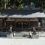 神気の通り道のパワースポット【奥氷川神社】