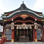 【水天宮】・日本一有名な安産の神さま!戌の日は大混雑!!