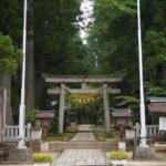 パワースポット!芦峅寺に鎮座する「雄山神社・中宮祈願殿」