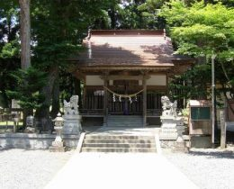 神山の秘水流れるパワースポット【岩手山神社】